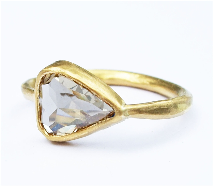 Margery Hirschey rose-cut diamond ring
