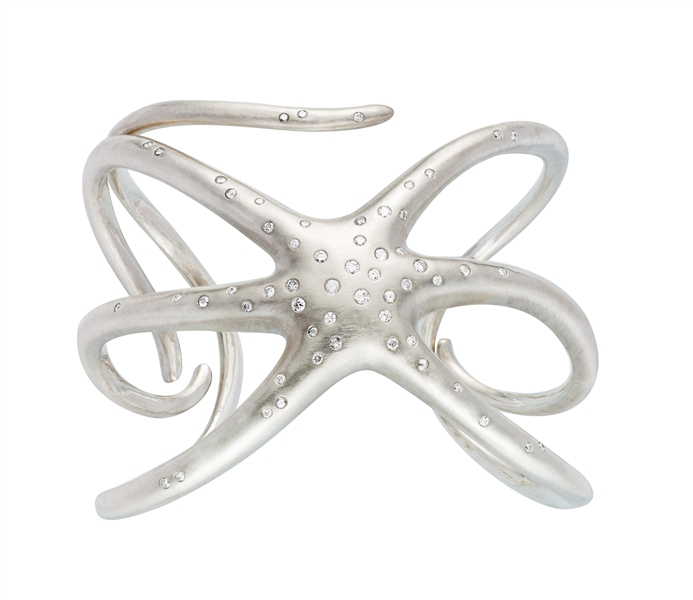 India Hicks diamond starfish cuff