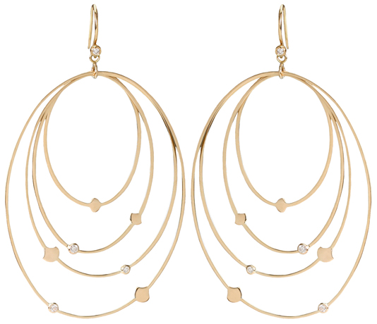 Shaesby at Fragments gold earrings