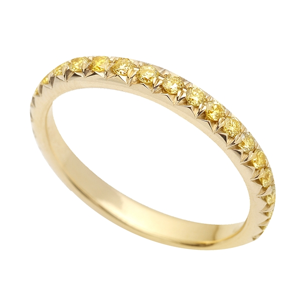 Superior Diamond Cutters yellow diamond band