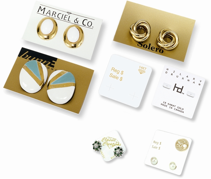 Arch Crown earring cards