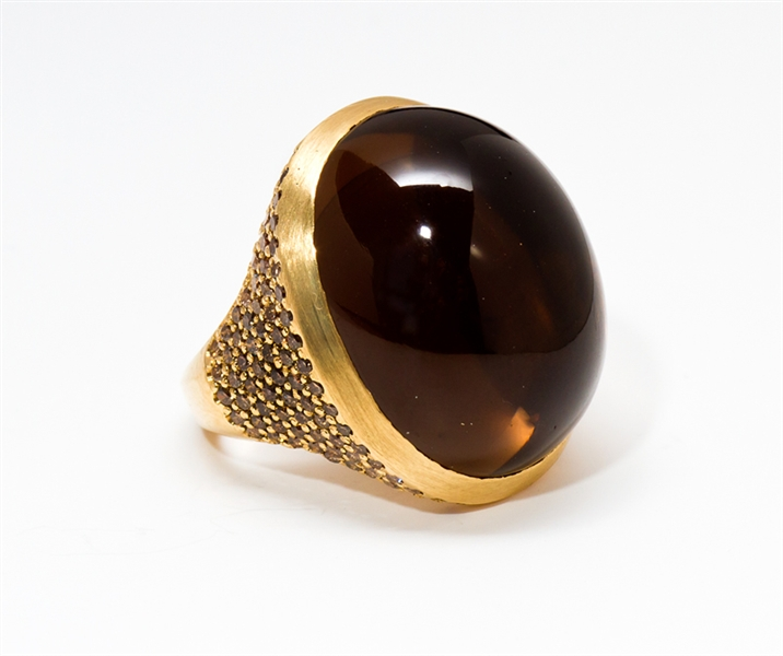 Karin Jamieson smoky quartz ring