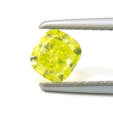Leibish Co. yellow green loose diamond