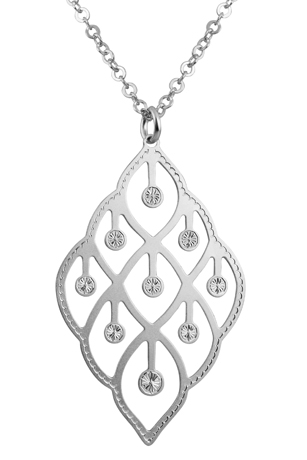 Artistry silver necklace
