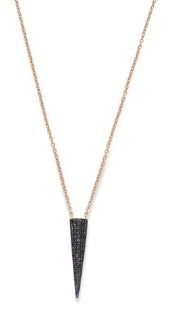 Karma el Khalil necklace with black diamonds