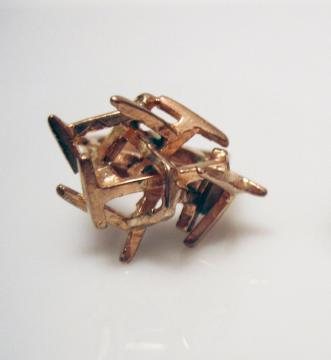 C. J. Recht Subway ring in bronze