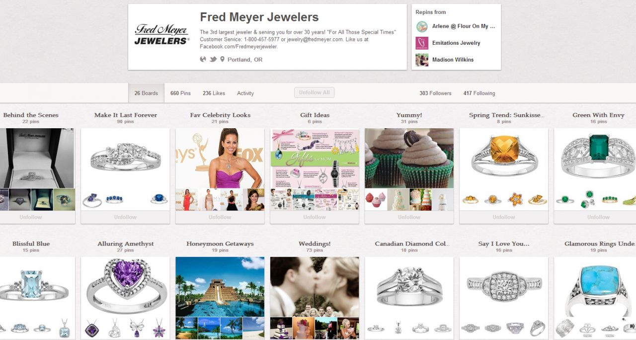 Fred Meyer pinterest