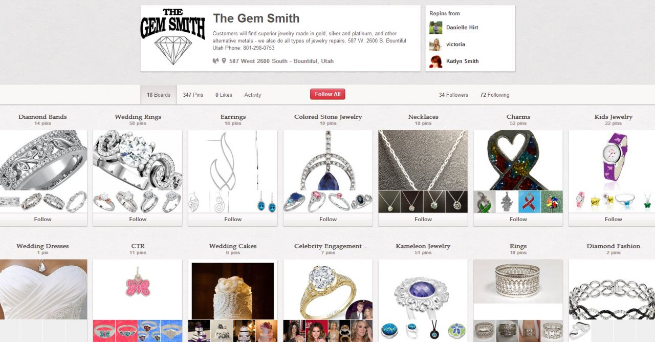 gem smith pinterest