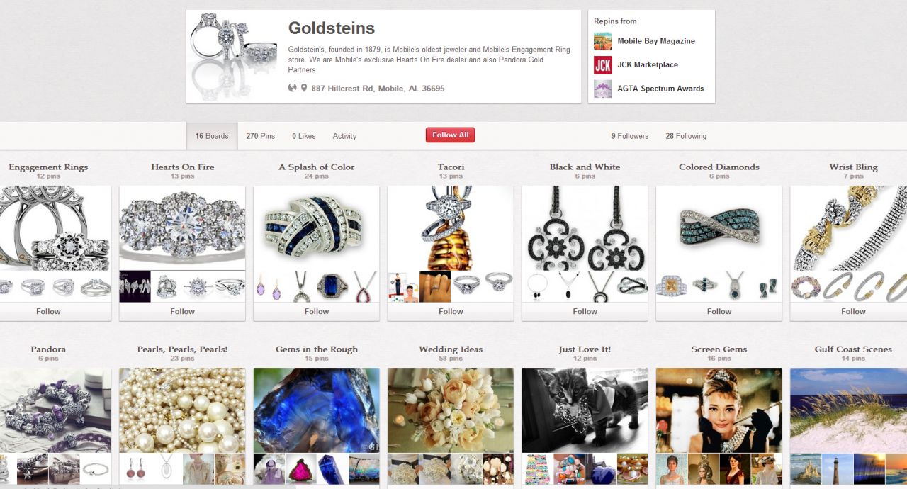 goldsteins pinterest