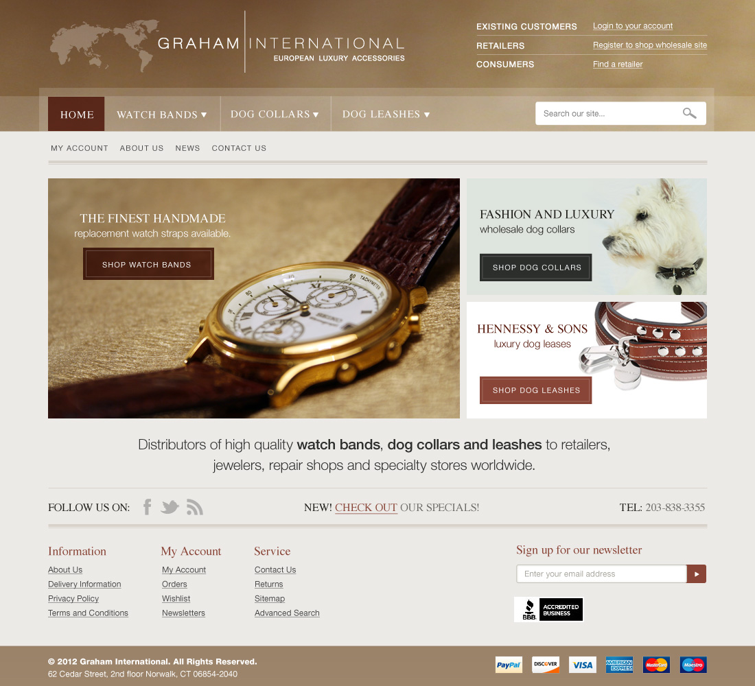 Graham International website