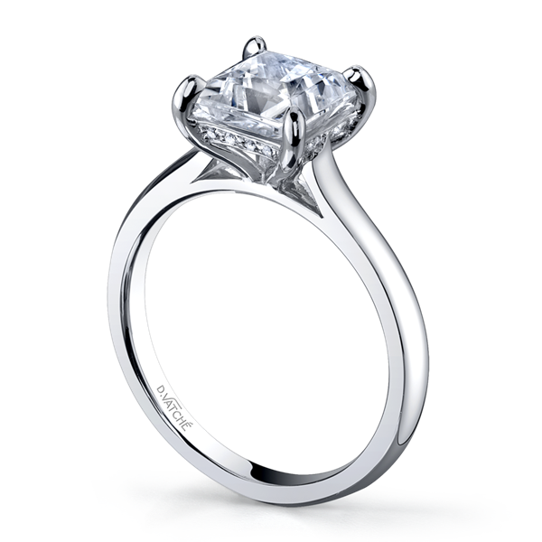 D Vatche princess cut ring