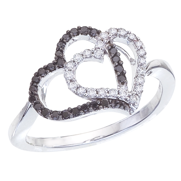 Trellis Worldwide hugging hearts ring