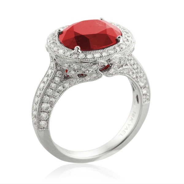 Yael Rose ruby ring