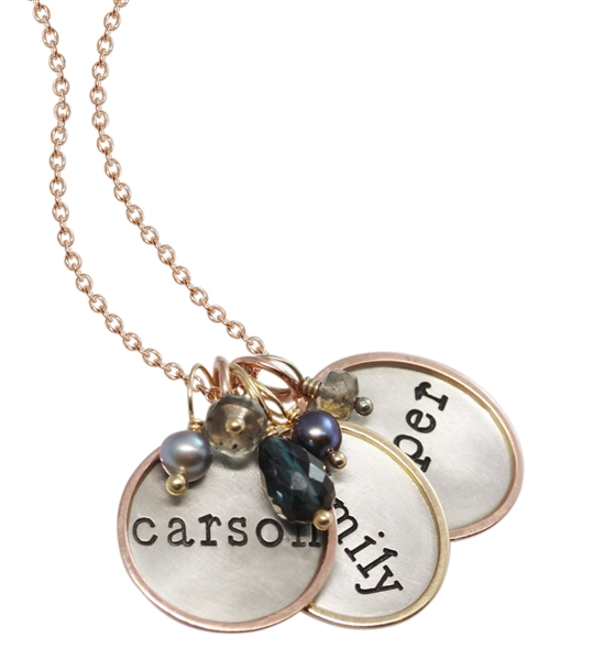 Heathre Moore family necklace