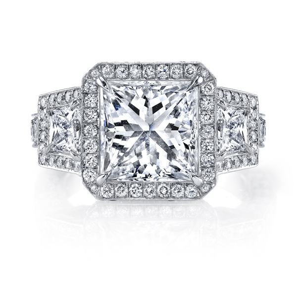 Joshua J princess cut ring