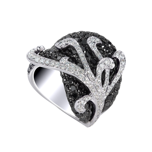 Kattan diamond fashion ring