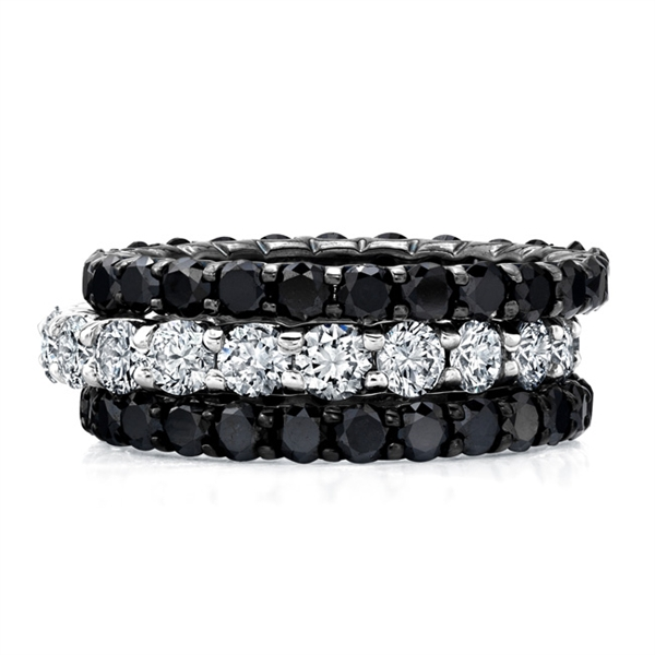M.K. Diamonds eternity bands
