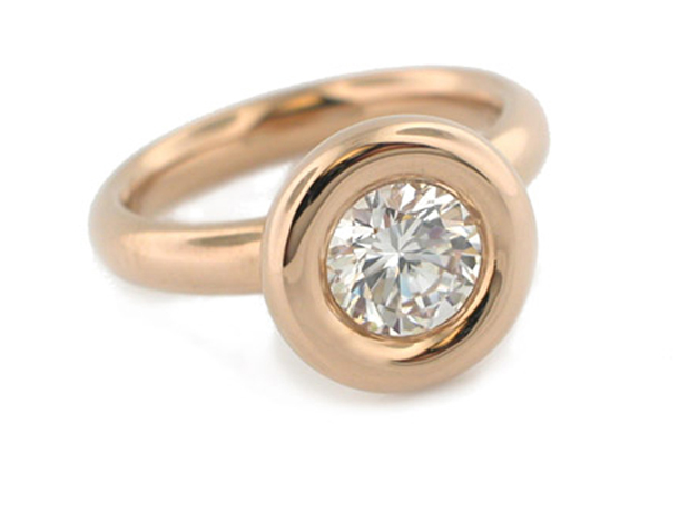 Catherine Iskiw rose gold semi-mount
