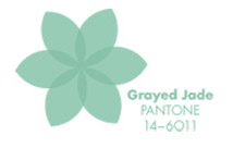 Pieces of Pantone: Grayed Jade