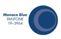 Pieces of Pantone: Monaco Blue
