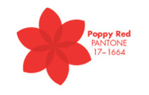 Pieces of Pantone: Red Poppy