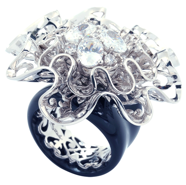 Belle Etoile corsage ring