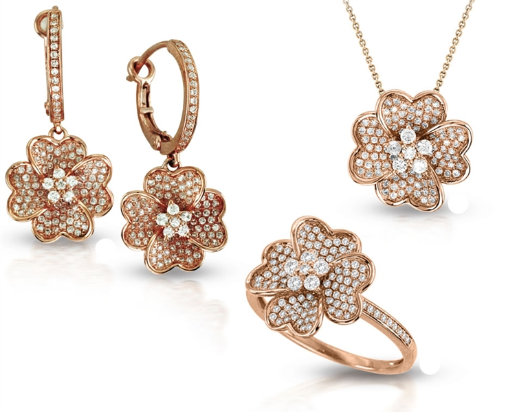 Asher Jewelry rose gold collection