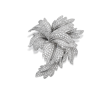 Picchiotti orchid brooch