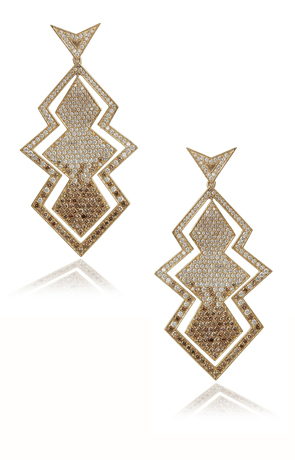 Earrings by Deborah Pagani
