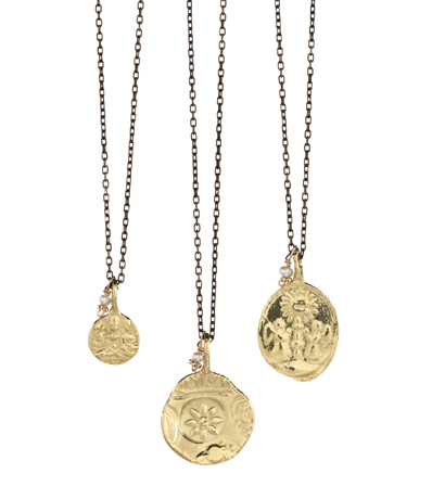 Robin Haley Coin necklaces