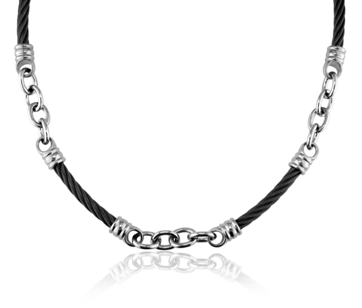 Edward Mirell signature cable necklace