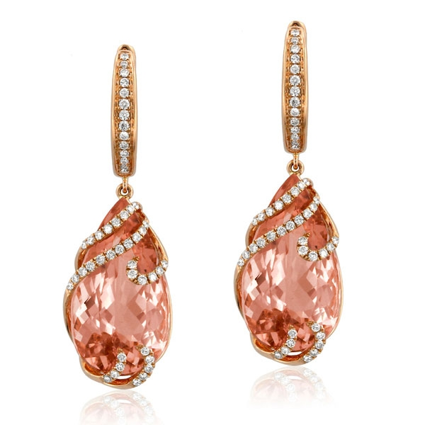 Yael Norma Morganite earrings