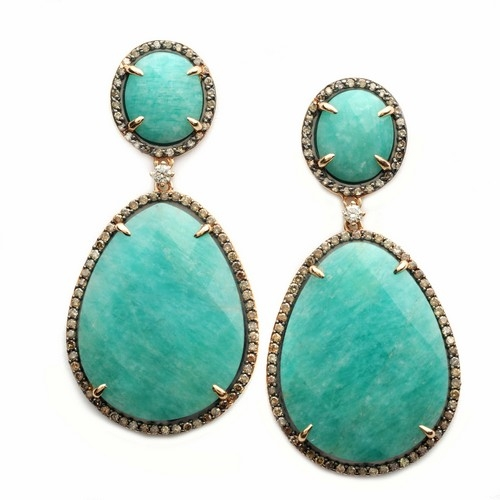 Vancox amazonite earrings