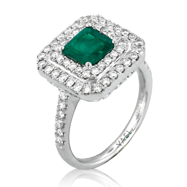 Yael emerald lush ring