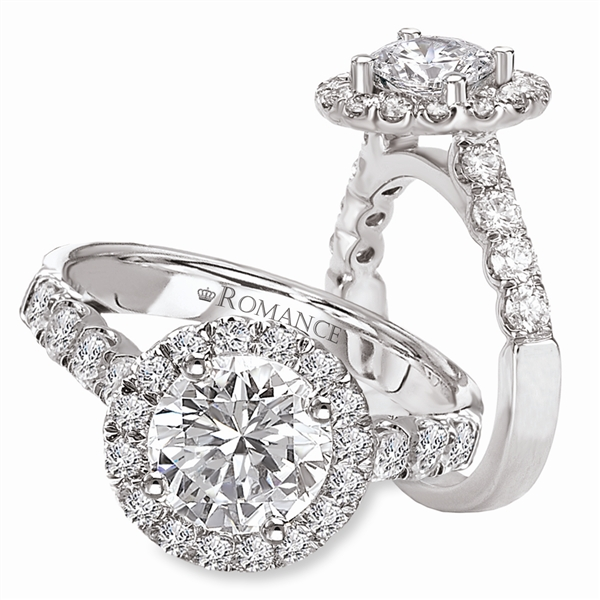 Kim International Romance diamond engagement ring