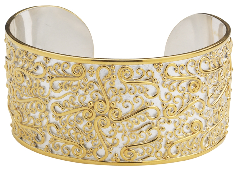 Michou filigree cuff bracelet