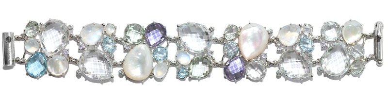 Anzie Jewelry gemstone Bouquet bracelet