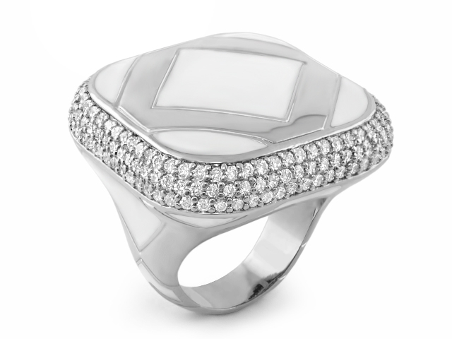 Lauren G Adams Diamond Girl cocktail ring