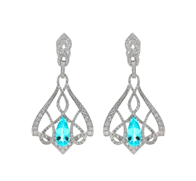 Frederic Sage Paloma paraiba earrings