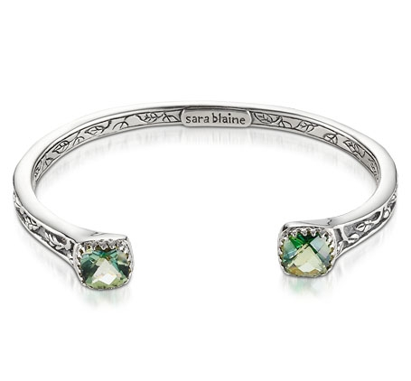 Sara Blaine Jewelry Crown Jewel cuff