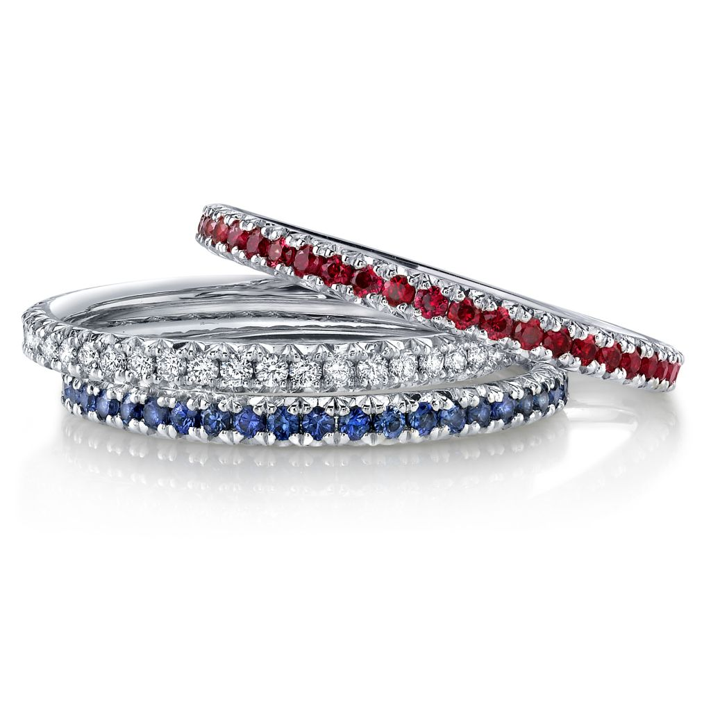 Omi Prive precious eternity bands
