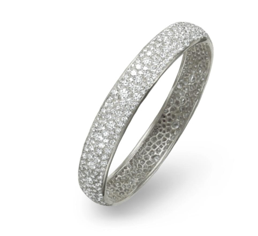 Van Cleef & Arpel diamond bangle