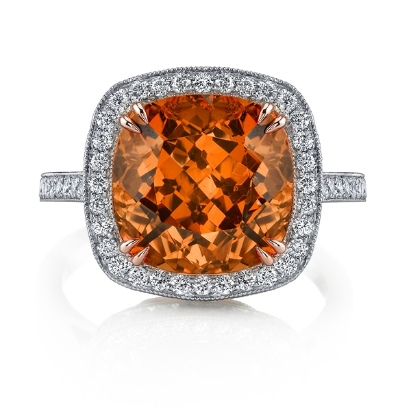 Omi Prive spessartite garnet ring