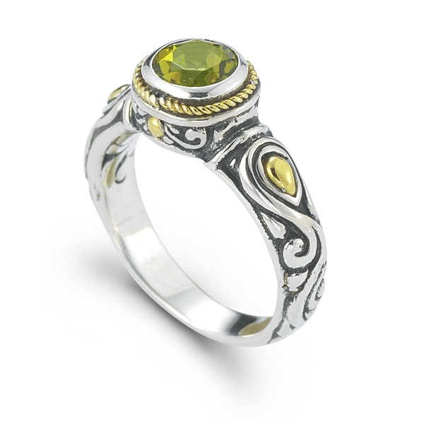 Robert Manse Designs peridot ring