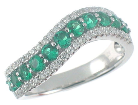 BHS Emerald Ring