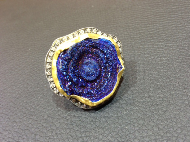 ZDNY & Co. drusy ring