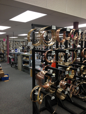 Holy wire room! You can get any gauge you like at Rio Grande.
