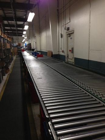 Conveyor belt at Rio Grande helps expedite thousands of daily orders