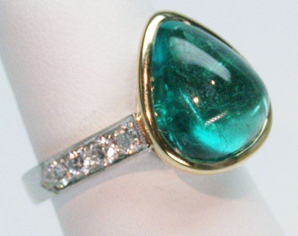 Jeffrey Bilgore emerald ring