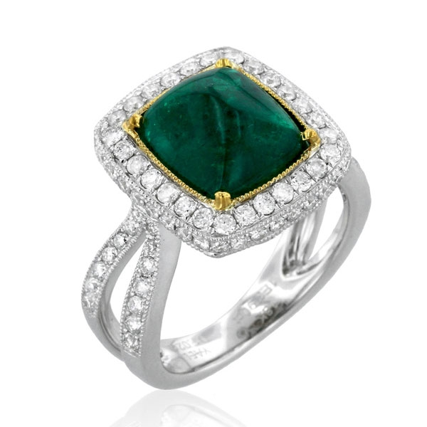 Yael Emerald Ring